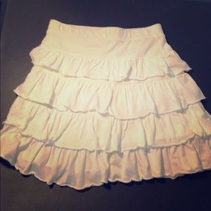 White lands end skirt size 10